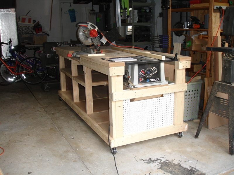 My Garage Workshop Ultimate Workbench