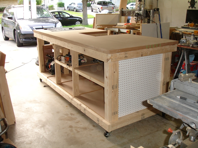 My Garage Workshop Ultimate Workbench – Plans For Building A Workbench In A Garage