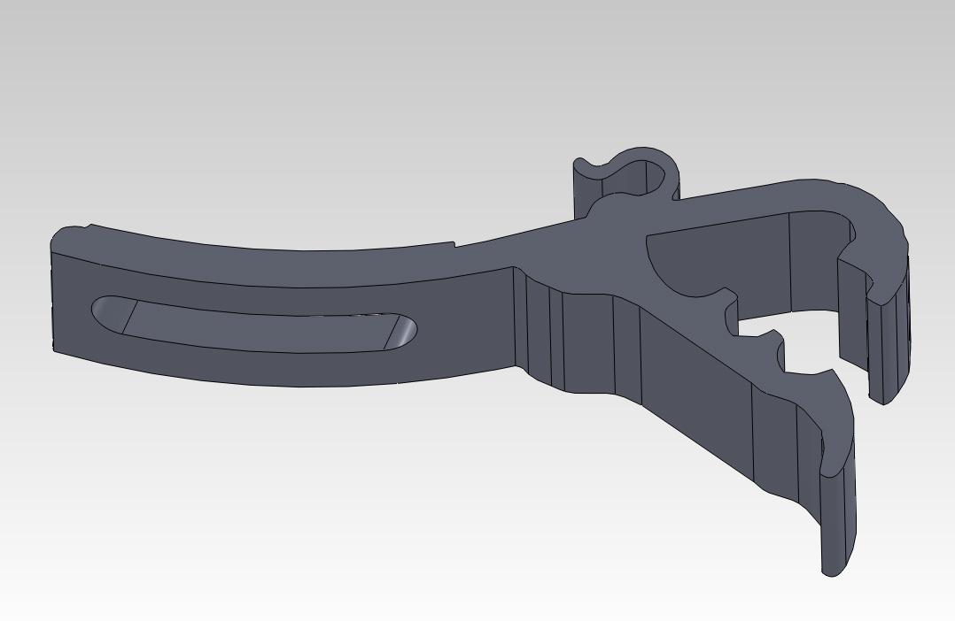 My Garage Workshop - 3D Printed Drum Mic Clip